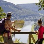 Wanderetappe auf dem Neckarsteig