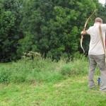 Bogenschießen auf dem 3D-Parcour in Jagsthausen
