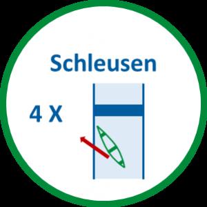 4 Schleusen