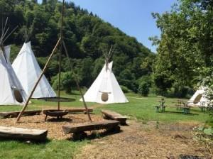 Tipi Dorf Neckargerach