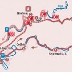 Die Hohe Straße zwischen Kocher & Jagsttal