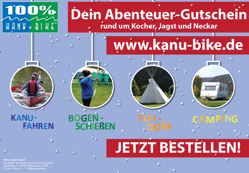 Kanu-Touren Erlebnis-Gutschein-Winterlayout